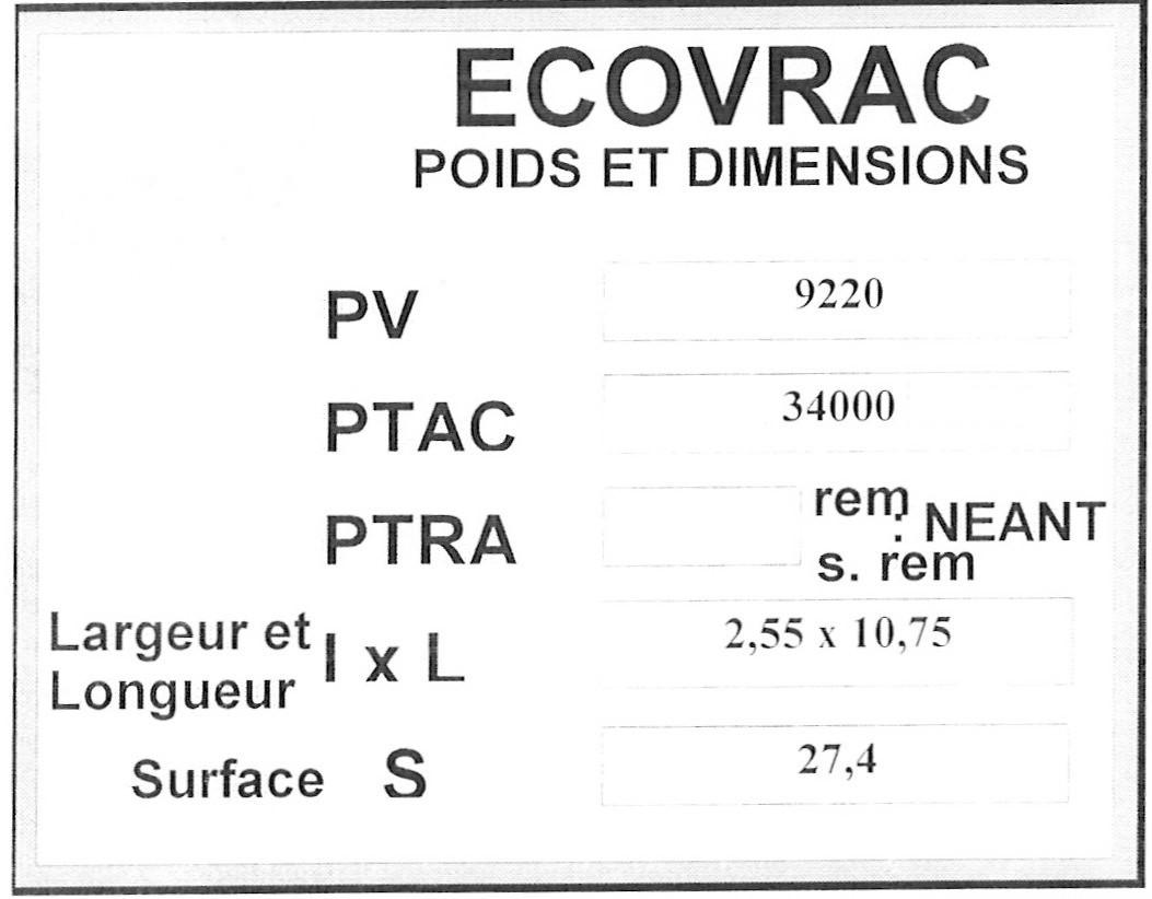 attestation 44 t ecovrac. Black Bedroom Furniture Sets. Home Design Ideas