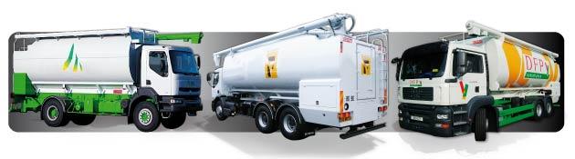 ECOVRAC - Porteurs pour le transport des aliments du bétail